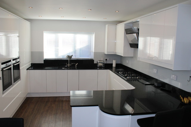 white gloss kitchens black worktops granite worktop low prices in granite and quartz 740
