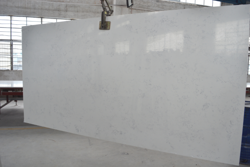 Carrara Quartz Worktops